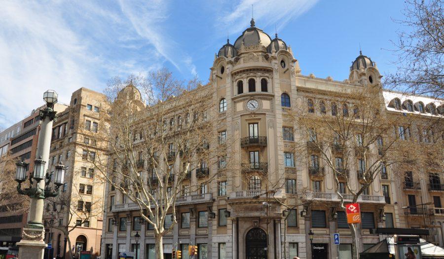 Plaça Catalunya-23 Sagnier edificio Rehabilitación GTA Europa