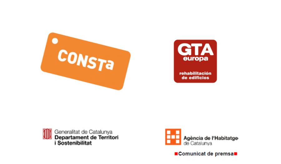 Sello Consta garantía profesional rehabilitación edificios GTA Europa