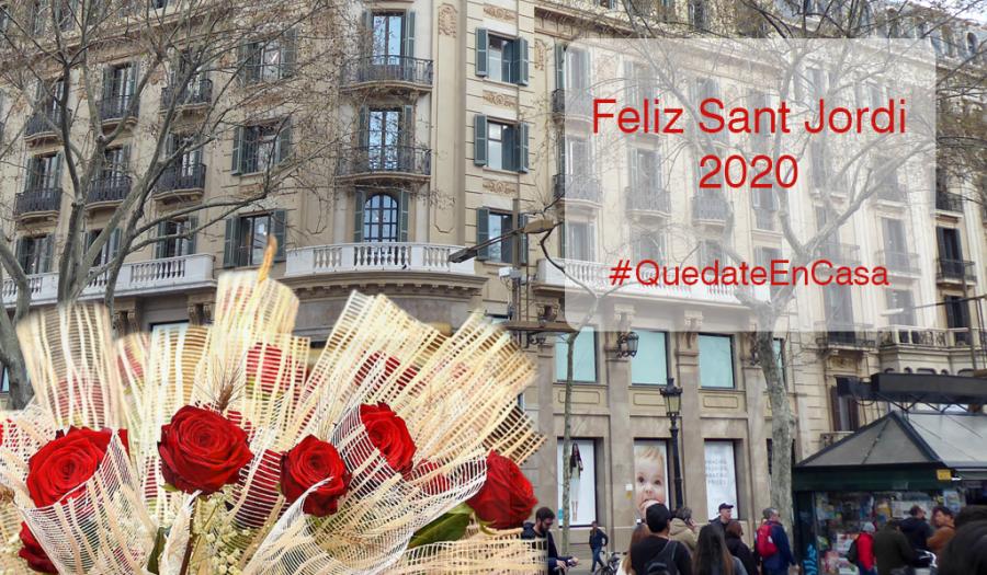 Sant Jordi 2020, #QuedateEnCasa con GTA Europa