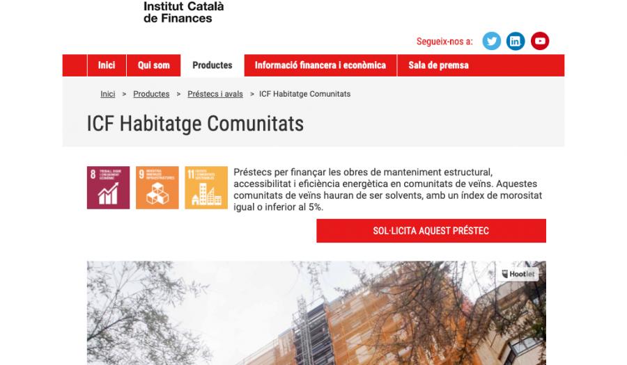 Assessorem als nostres clients ICF Habitatge Comunitats